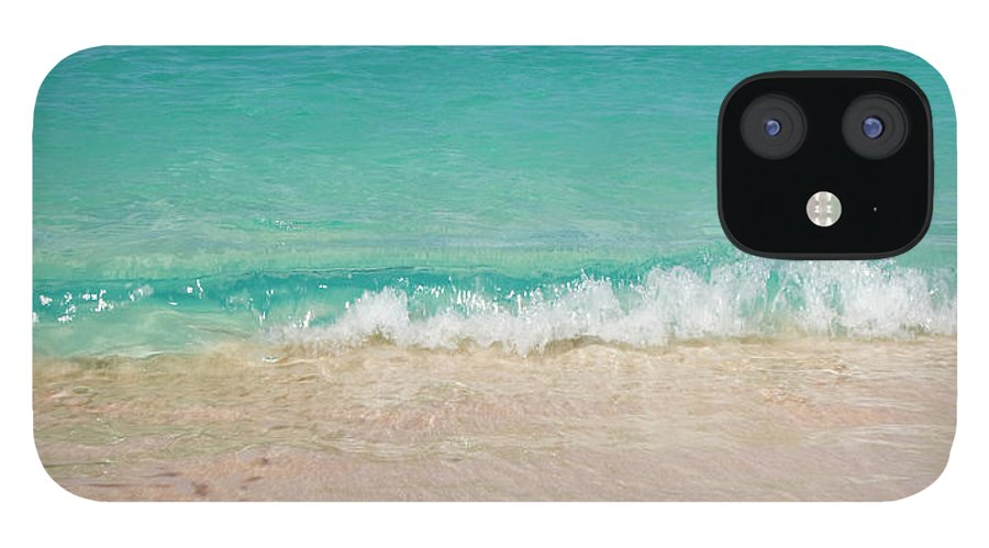 Water's Edge iPhone 12 Case featuring the photograph Indonesia, Waves Rolling In From Indian by Joe Mcbride