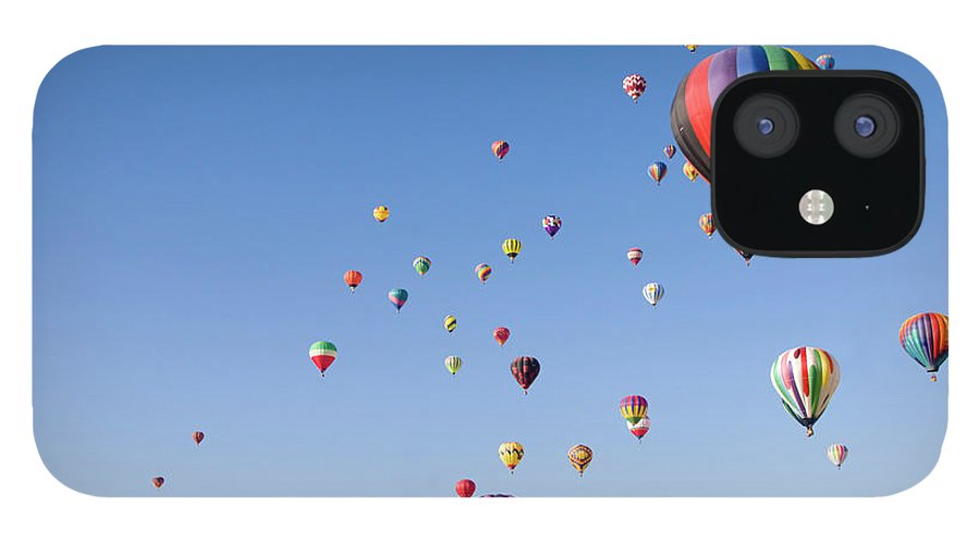 Event IPhone 12 Case featuring the photograph International Balloon Fiesta by Prmoeller