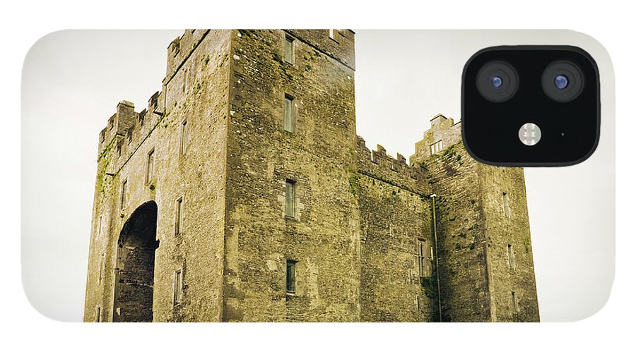 Bunratty Castle IPhone 12 Case featuring the photograph Ireland Bunratty Castle In County by Alantobey