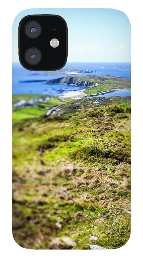 Scenics IPhone 12 Case featuring the photograph Ireland, Landscape by Moreiso