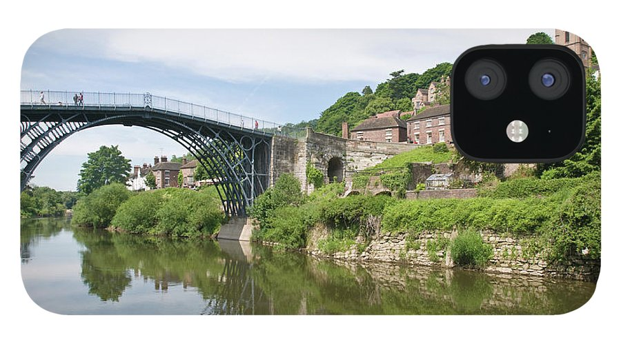 Arch iPhone 12 Case featuring the photograph Ironbridge In Telford by Dageldog