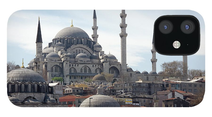 Istanbul iPhone 12 Case featuring the photograph Istanbul In Turkey by Steve Allen