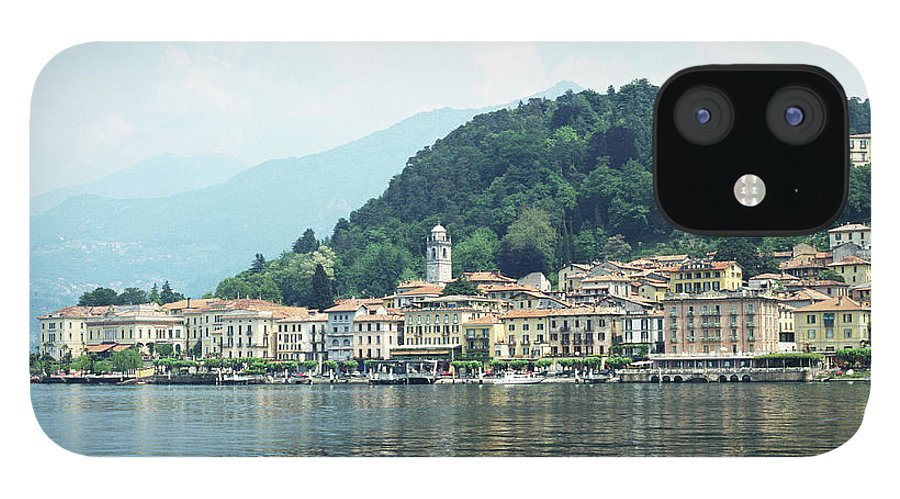 Outdoors IPhone 12 Case featuring the photograph Italy, Lombardy, Bellagio On Lake Como by Andy Sotiriou
