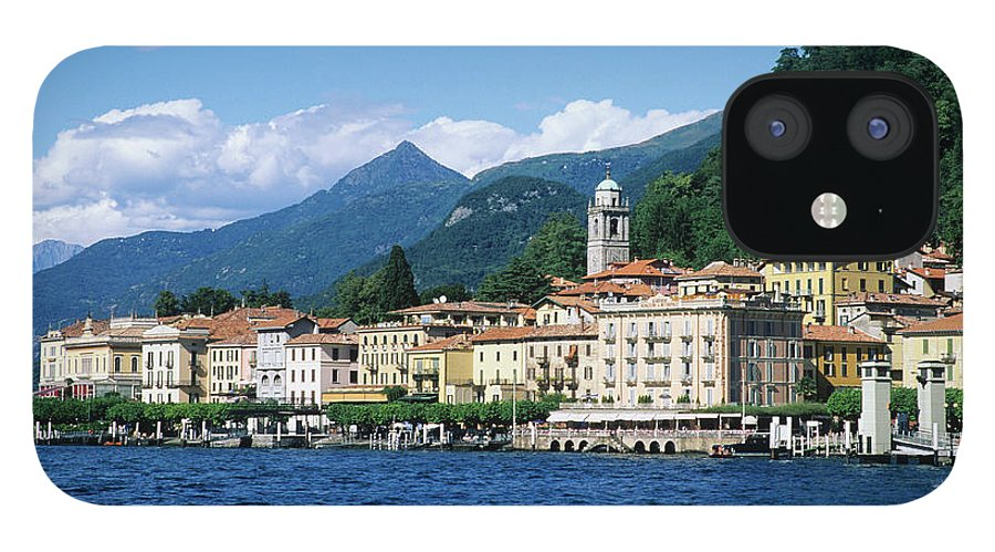Scenics IPhone 12 Case featuring the photograph Italy, Lombardy, Bellagio by Vincenzo Lombardo