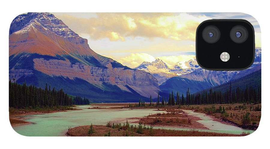 Scenics iPhone 12 Case featuring the photograph Jasper Rockies by Teeje