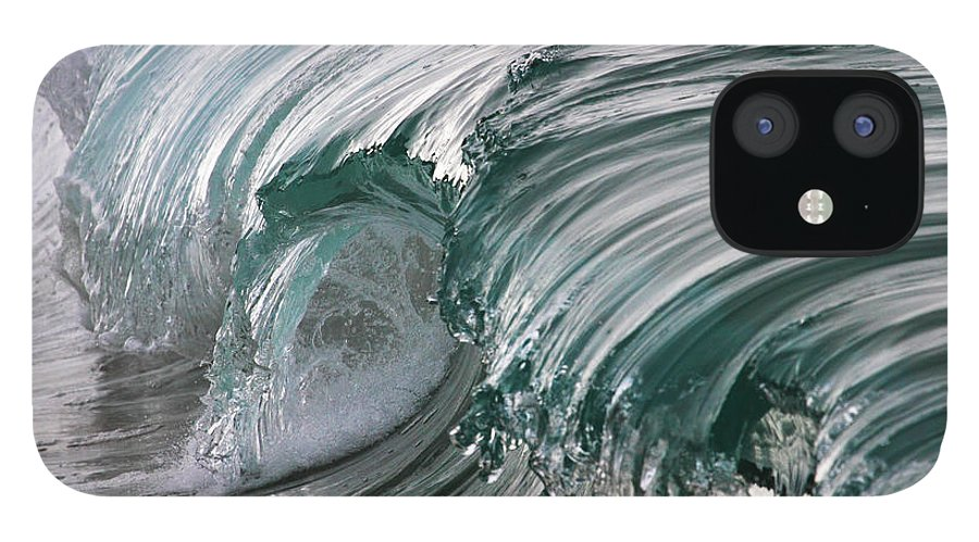 Scenics IPhone 12 Case featuring the photograph Jibbon Wave by Ewen Charlton