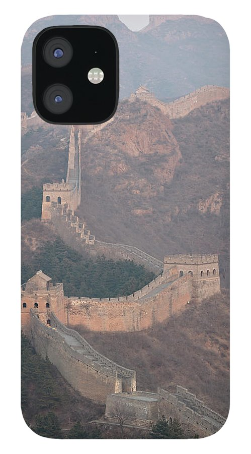 Chinese Culture IPhone 12 Case featuring the photograph Jinshanling Section, Great Wall Of China by Thomas Kokta
