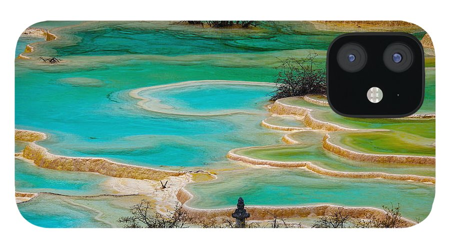 Chinese Culture IPhone 12 Case featuring the photograph Jiuzhaigou,sichuan by View Stock