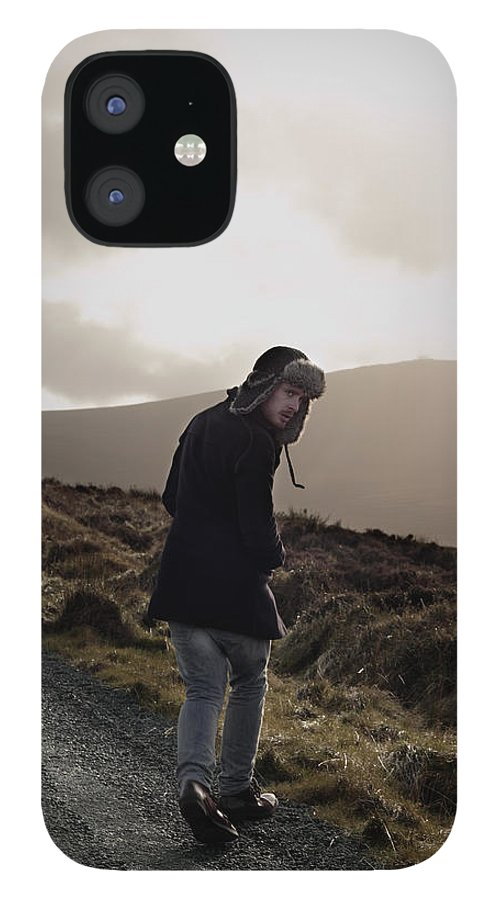 Dublin iPhone 12 Case featuring the photograph Journey by Ruth Maria Murphy