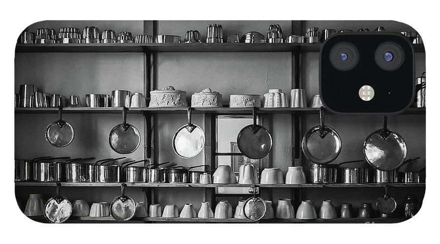 Hanging IPhone 12 Case featuring the photograph Kitchen Accessories, Saffron Walden by Helen Hooker