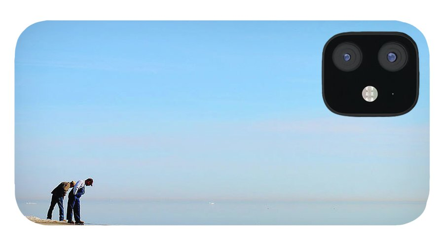 Lake Michigan IPhone 12 Case featuring the photograph Lake Michigan by J.v.castro