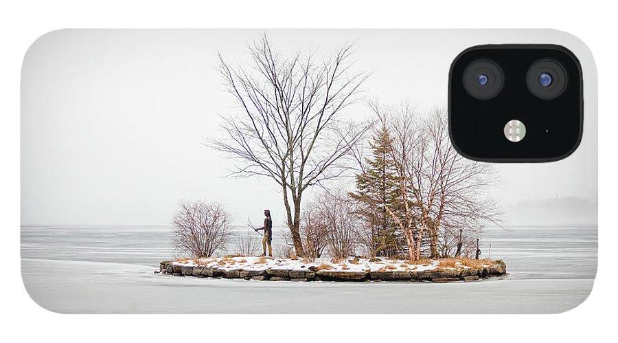 Lake Winnipesaukee IPhone 12 Case featuring the photograph Lake Winnipesaukee Indian Island Meredith New Hampshire by Trevor Slauenwhite
