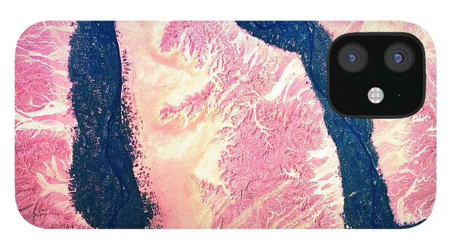 Accessibility IPhone 12 Case featuring the photograph Landscape Of Earth Viewed From Space by Stockbyte