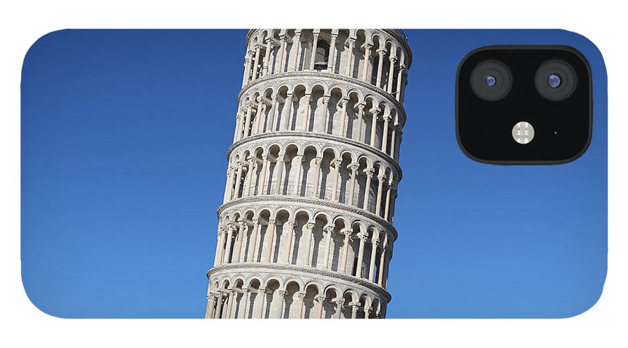Leaning iPhone 12 Case featuring the photograph Leaning Tower Of Pisa by Narvikk
