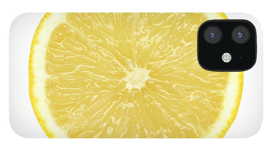 Limon Province iPhone 12 Case featuring the photograph Lemon by Suzifoo