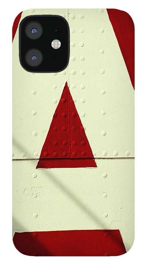Baltimore IPhone 12 Case featuring the photograph Letters On Lightship, Detail by Harvey Lloyd