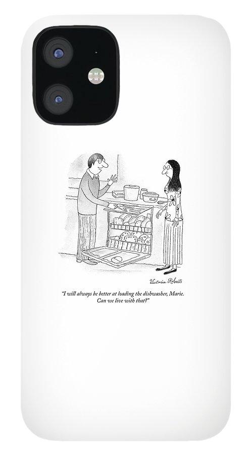 Loading the Dishwasher IPhone 12 Case