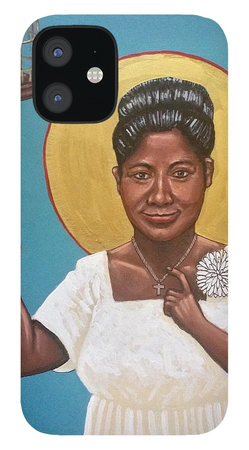 IPhone 12 Case featuring the photograph Mahalia Jackson by Kelly Latimore