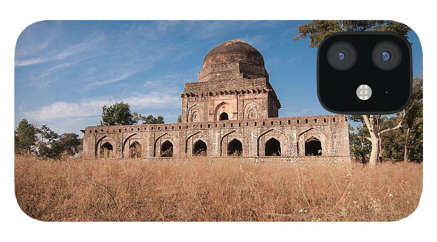 Built Structure iPhone 12 Case featuring the photograph Mandu, Mandav by Saurabh