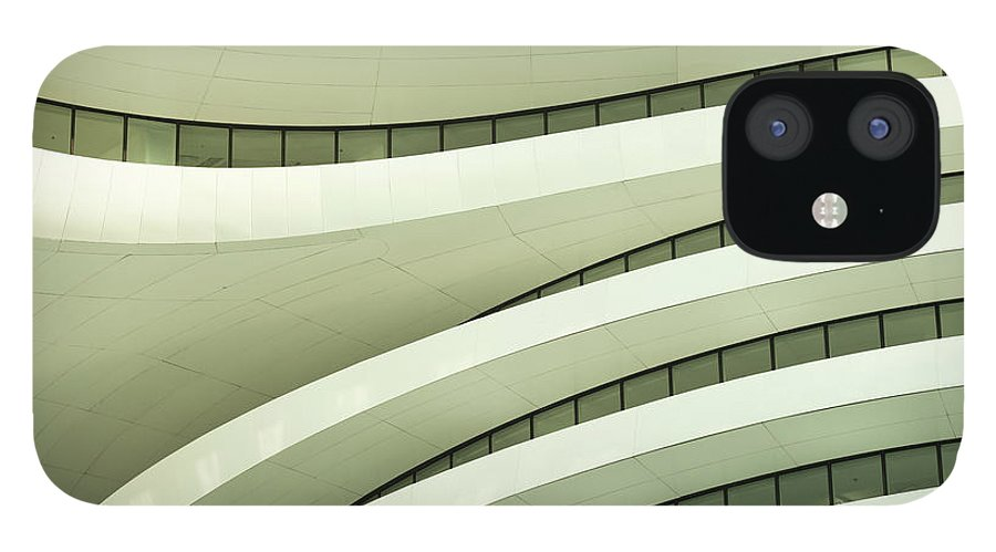 Arch IPhone 12 Case featuring the photograph Modern Architecture by Phototalk