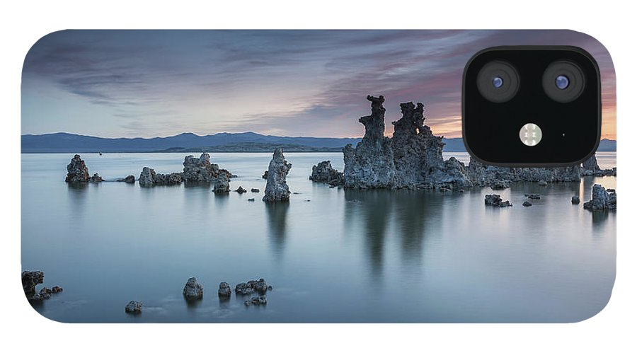 Tranquility IPhone 12 Case featuring the photograph Mono Lake by Henryk Welle