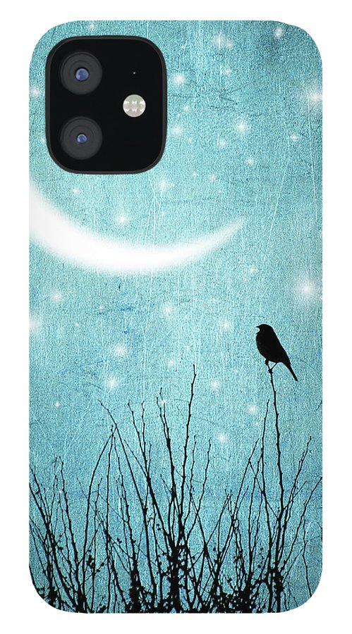 Animal Themes IPhone 12 Case featuring the photograph Moonlight Sonata by Marta Nardini