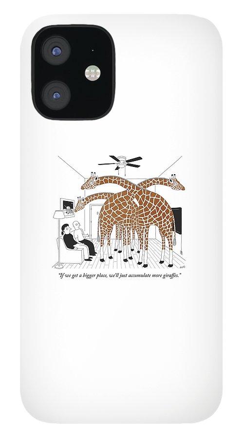 More giraffes IPhone 12 Case