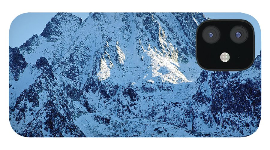 Scenics IPhone 12 Case featuring the photograph Mountain by Yorkfoto
