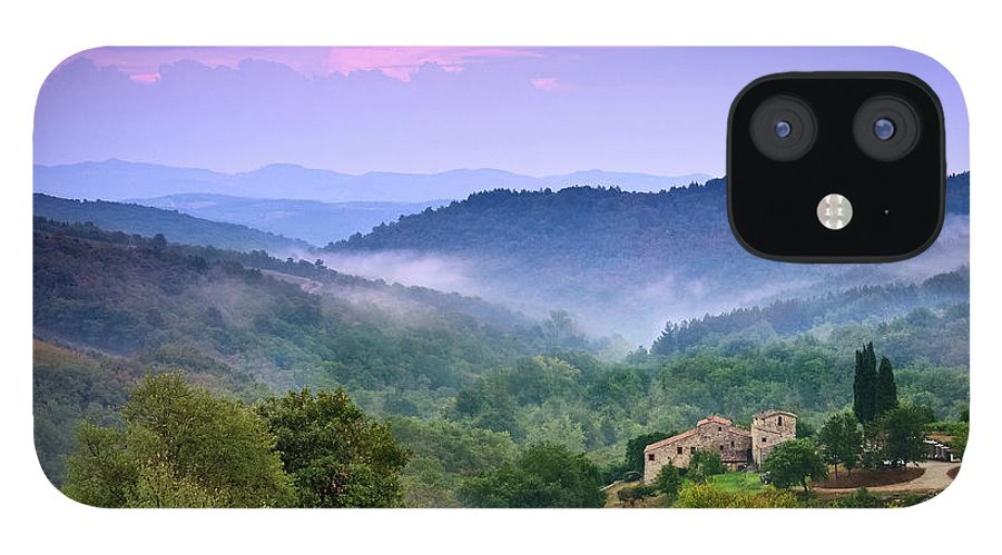 Scenics IPhone 12 Case featuring the photograph Mountains by Christian Wilt