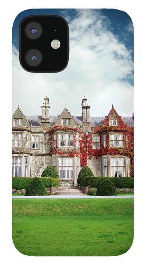 Grass IPhone 12 Case featuring the photograph Muckross House by Narvikk