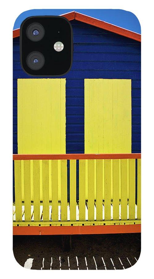 Steps iPhone 12 Case featuring the photograph Muizenberg Beach by Paul Piebinga