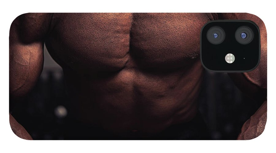 Young Men IPhone 12 Case featuring the photograph Muscular Torso by Marilyn Nieves