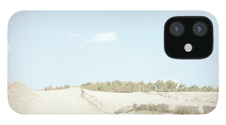 Scenics IPhone 12 Case featuring the photograph Nakatajima Sand Dunes by Haribote.nobody