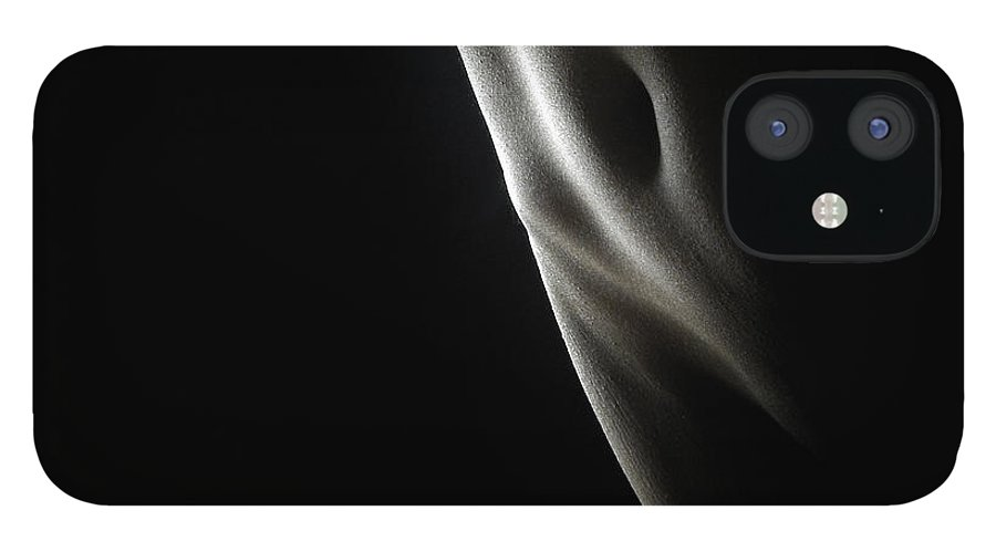 Torso IPhone 12 Case featuring the photograph Naked Woman, Close-up by Win-initiative/neleman