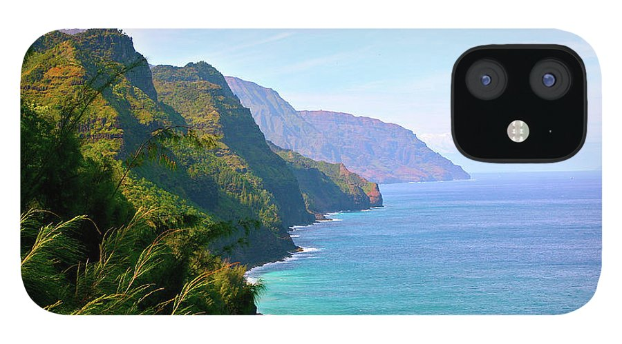 Nā Pali Coast State Park iPhone 12 Case featuring the photograph Napali by Sean M. Murphy Photography