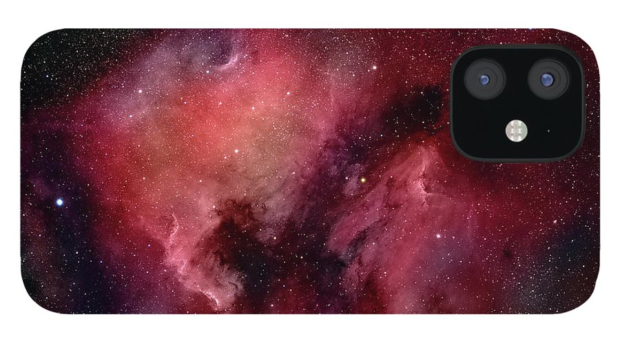 Majestic IPhone 12 Case featuring the photograph Nebulae In Cygnus by Plefevre