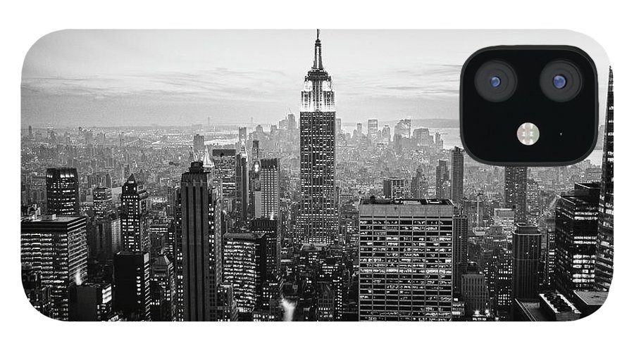 Outdoors IPhone 12 Case featuring the photograph New York City by Randy Le'moine