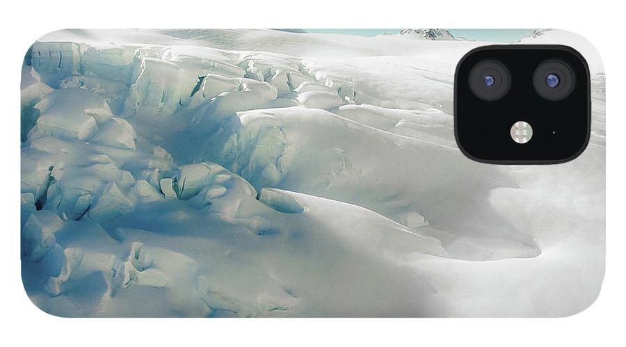 Cold Temperature IPhone 12 Case featuring the photograph New Zealand - Dreamy Glacier Landscape by Agnieszka Bachfischer