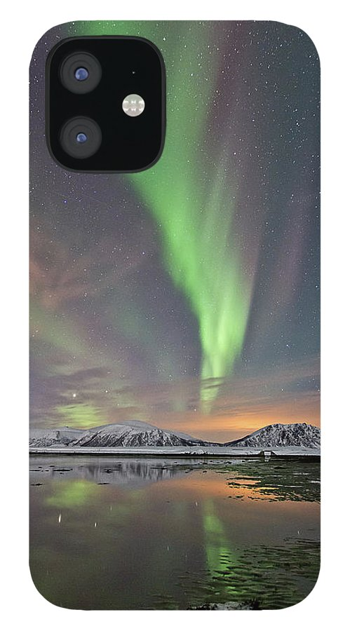 Scenics iPhone 12 Case featuring the photograph Norway Sky by By Frank Olsen, Norway