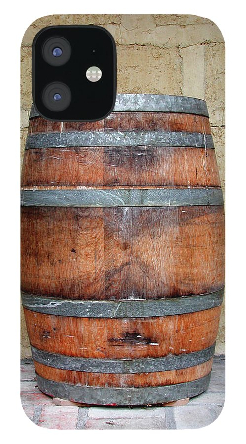 Alcohol IPhone 12 Case featuring the photograph Oak Wine Barrel by Sassphotos