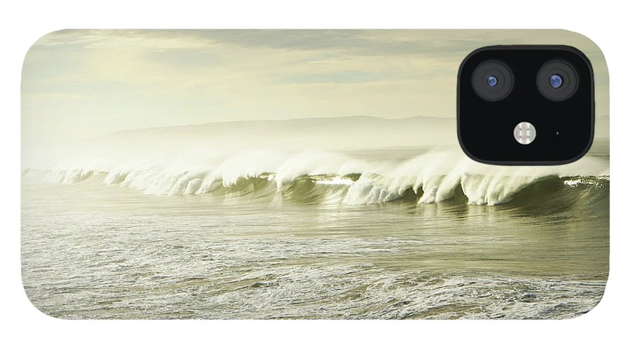 Pismo Beach IPhone 12 Case featuring the photograph Ocean At Sunrise by Kevinruss