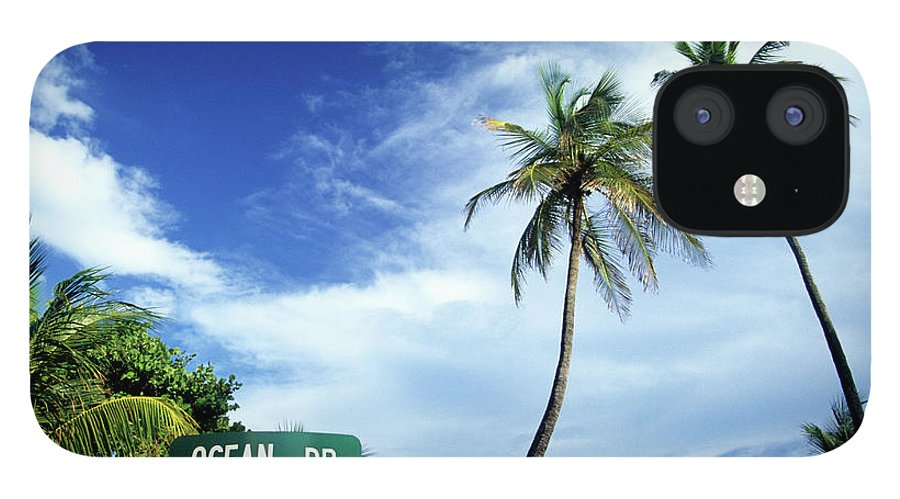 Outdoors IPhone 12 Case featuring the photograph Ocean Drive, South Beach, Miami by Hisham Ibrahim