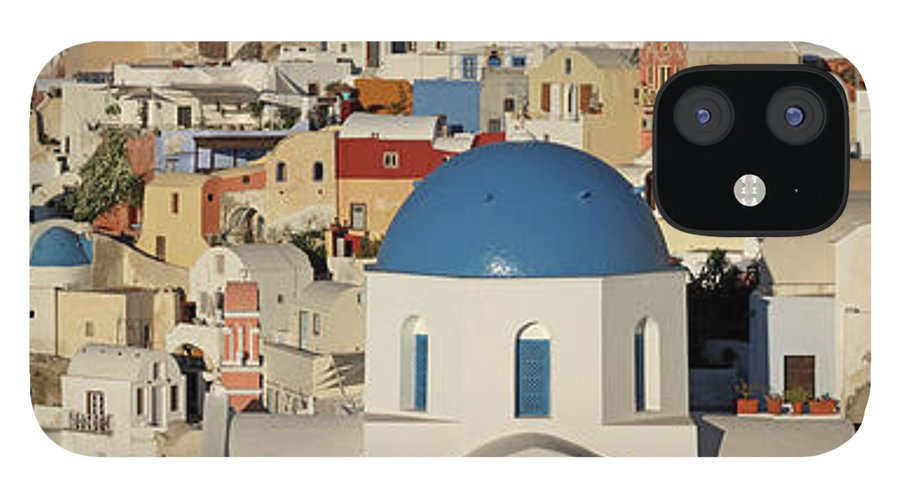 Tranquility IPhone 12 Case featuring the photograph Oia Architecture by Sandra Kreuzinger