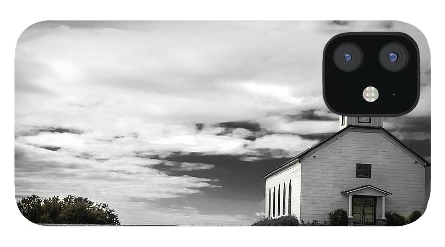Church IPhone 12 Case featuring the photograph Old church by Peyton Vaughn