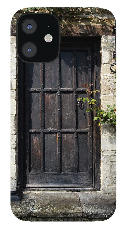 England IPhone 12 Case featuring the photograph Old Door by Chrisat