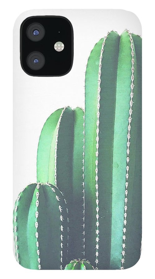Cactus IPhone 12 Case featuring the photograph Organ Pipe Cactus by Cassia Beck