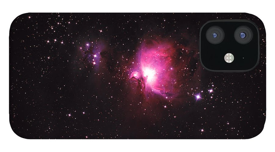 Natural Gas IPhone 12 Case featuring the photograph Orion Nebula by Plefevre
