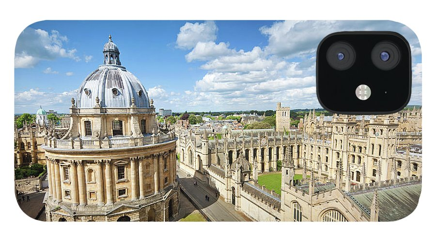Education iPhone 12 Case featuring the photograph Oxford, Uk by Nikada