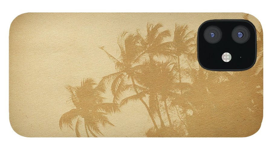 Aging Process IPhone 12 Case featuring the photograph Palm Paper by Nic taylor