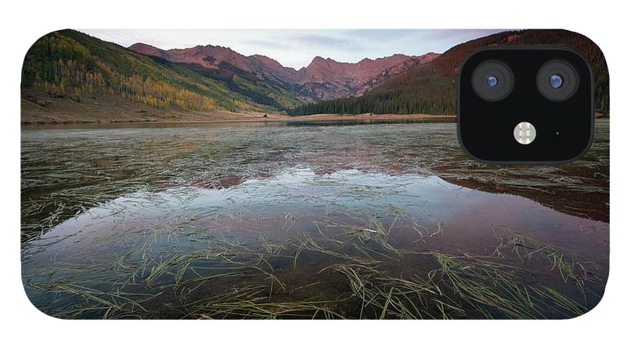 Scenics IPhone 12 Case featuring the photograph Piney Lake, Colorado by Lightvision